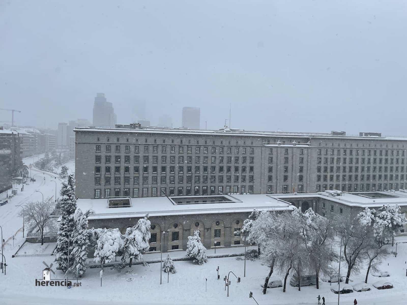 Más fotografías de las nieves de 2021 en Herencia 152