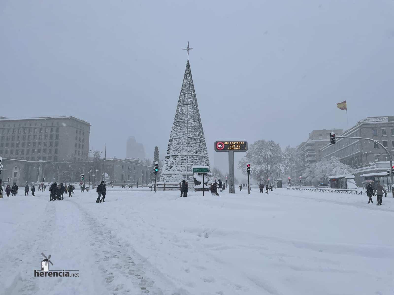 Más fotografías de las nieves de 2021 en Herencia 169