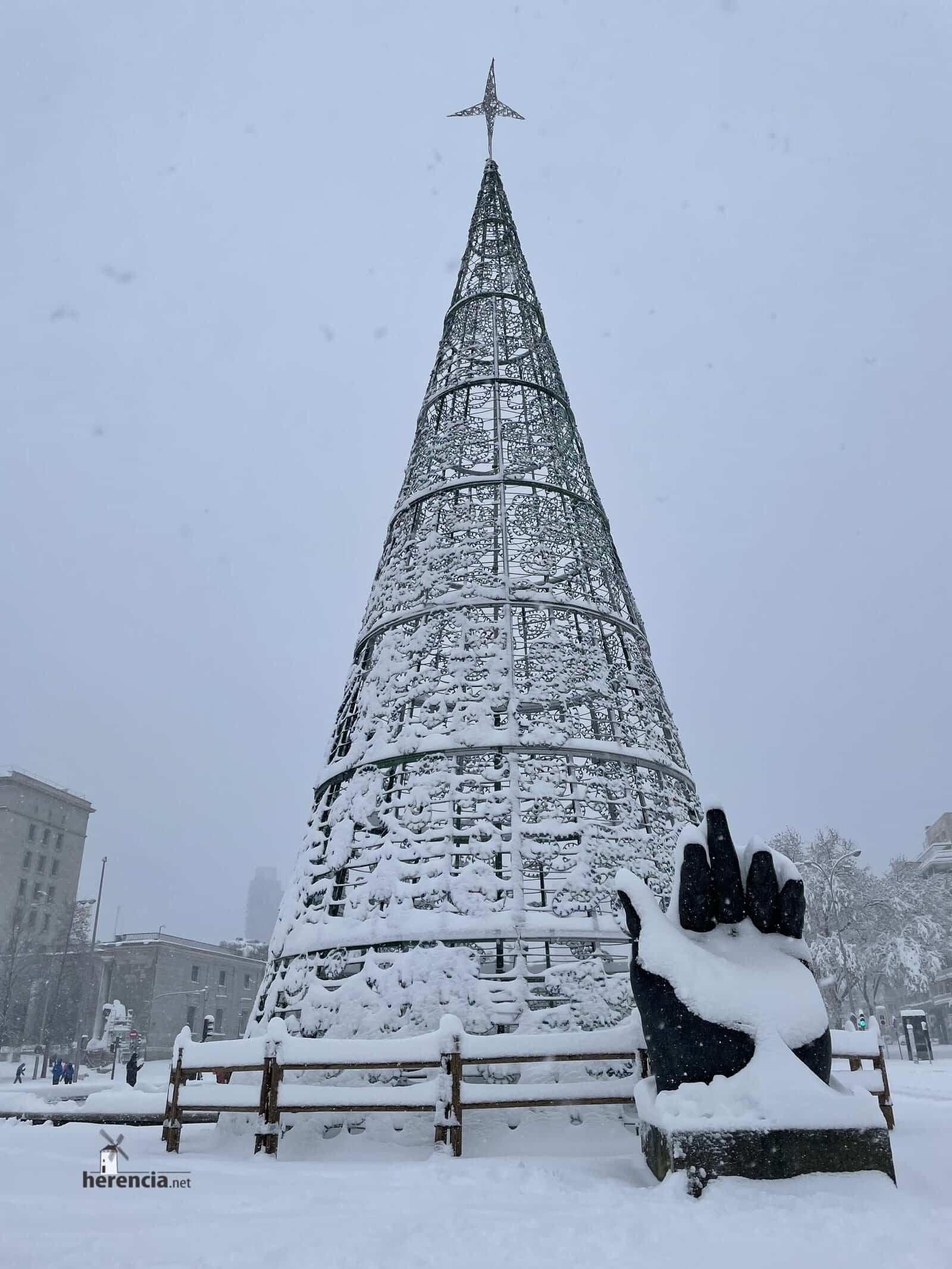 Más fotografías de las nieves de 2021 en Herencia 163