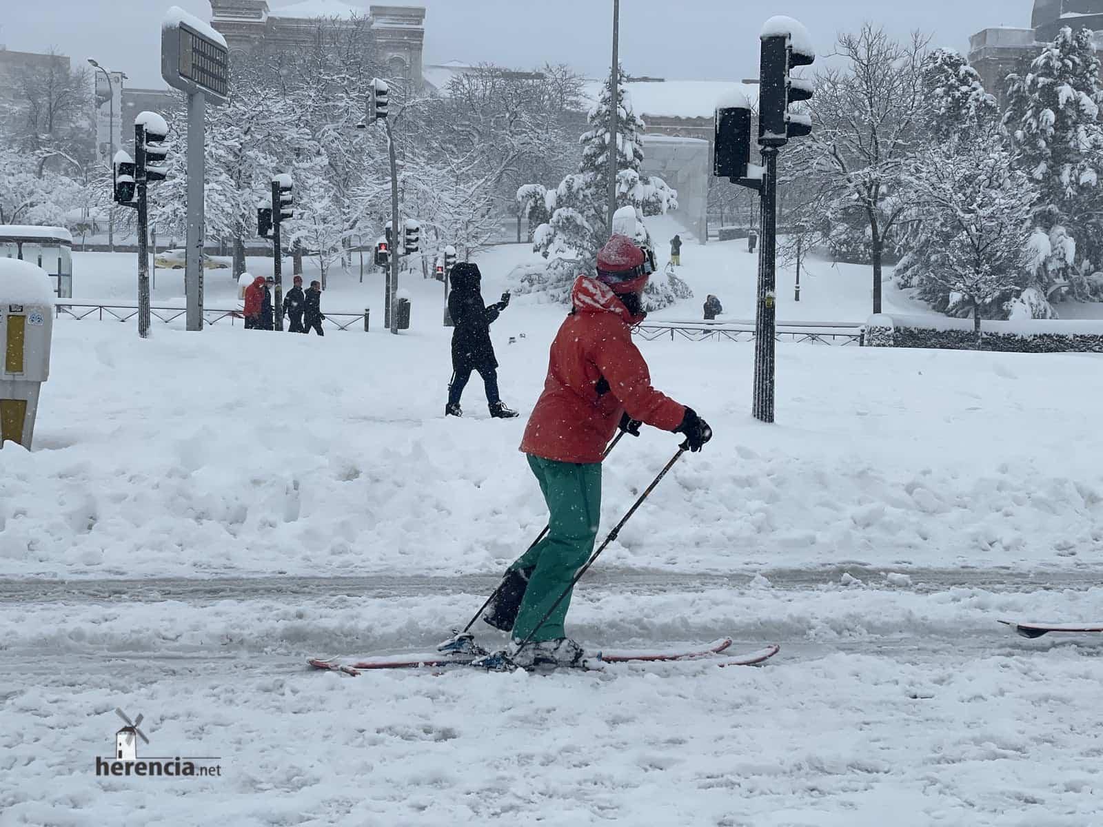 Más fotografías de las nieves de 2021 en Herencia 162