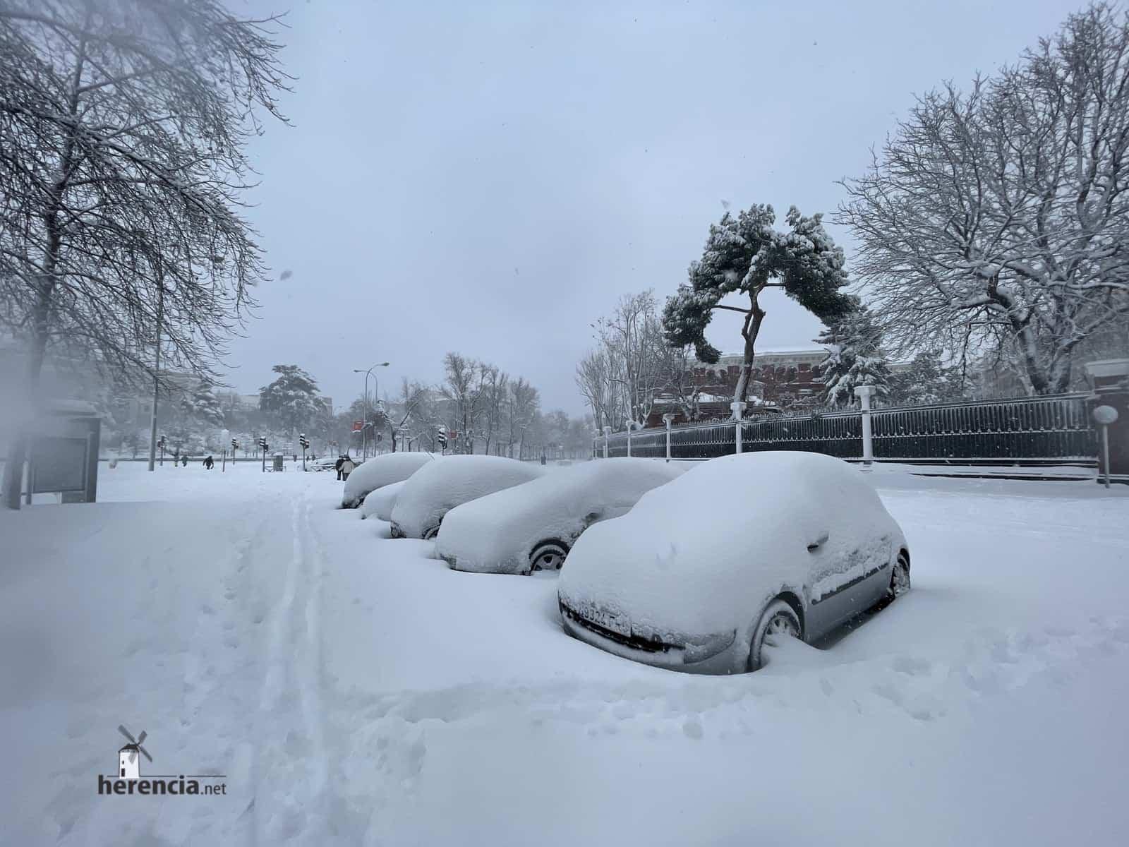 Más fotografías de las nieves de 2021 en Herencia 160