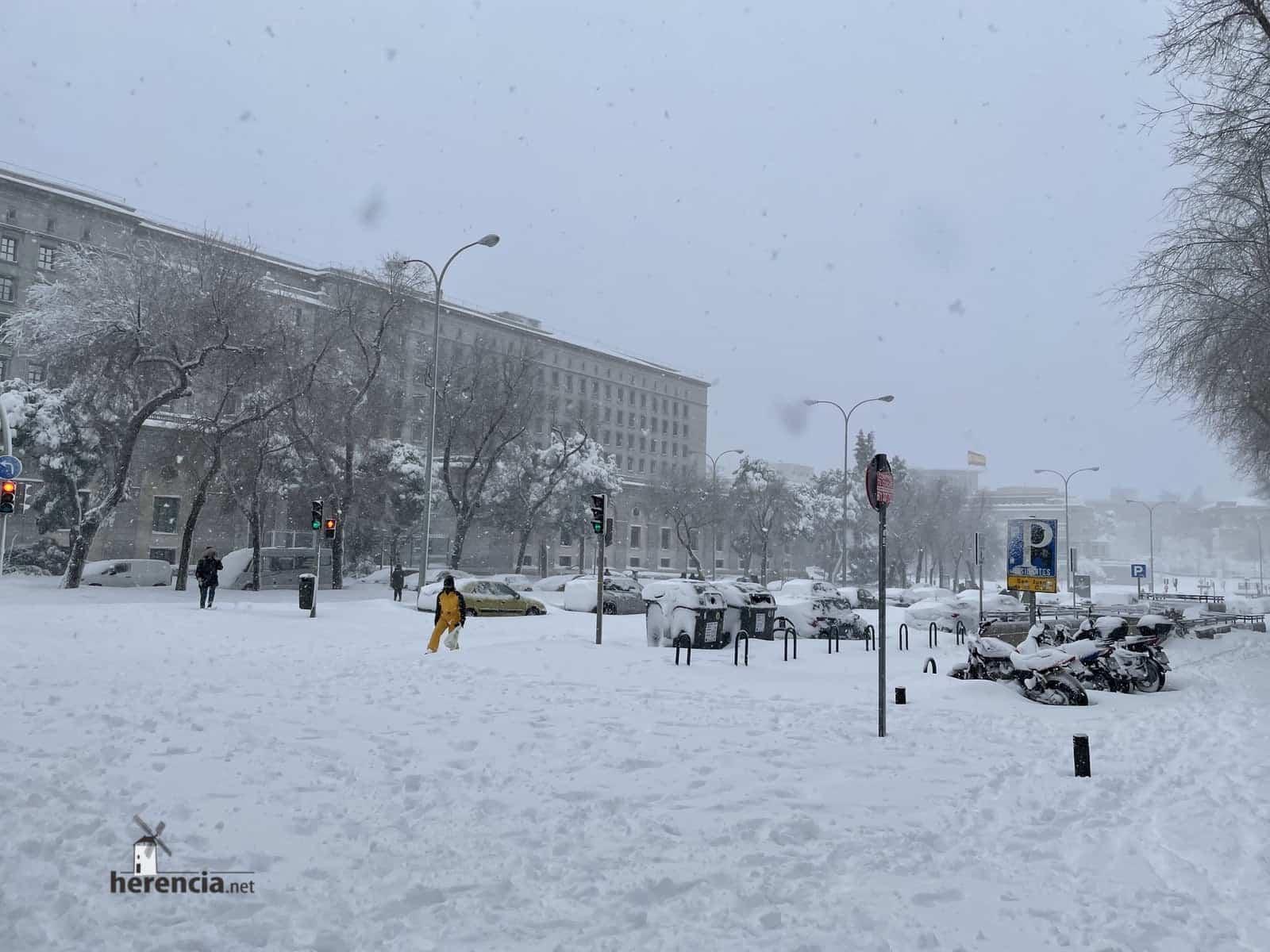 Más fotografías de las nieves de 2021 en Herencia 159