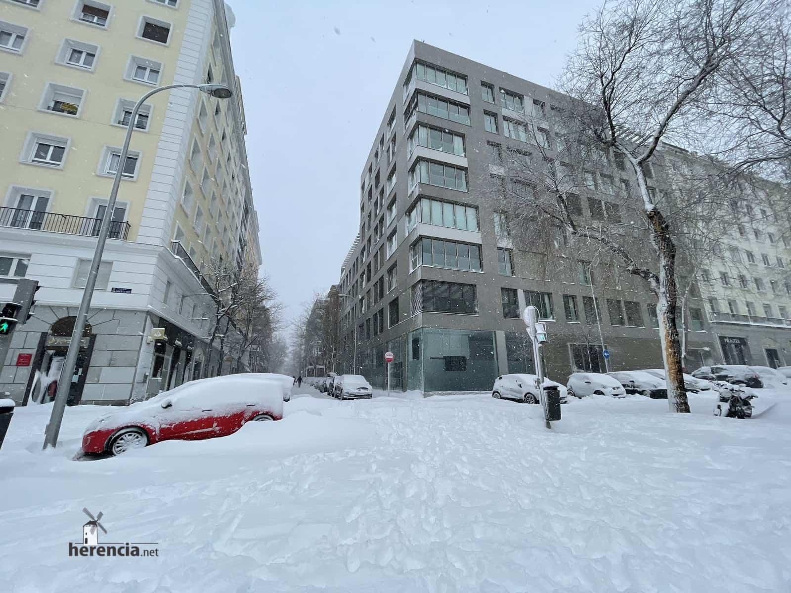 Más fotografías de las nieves de 2021 en Herencia 158