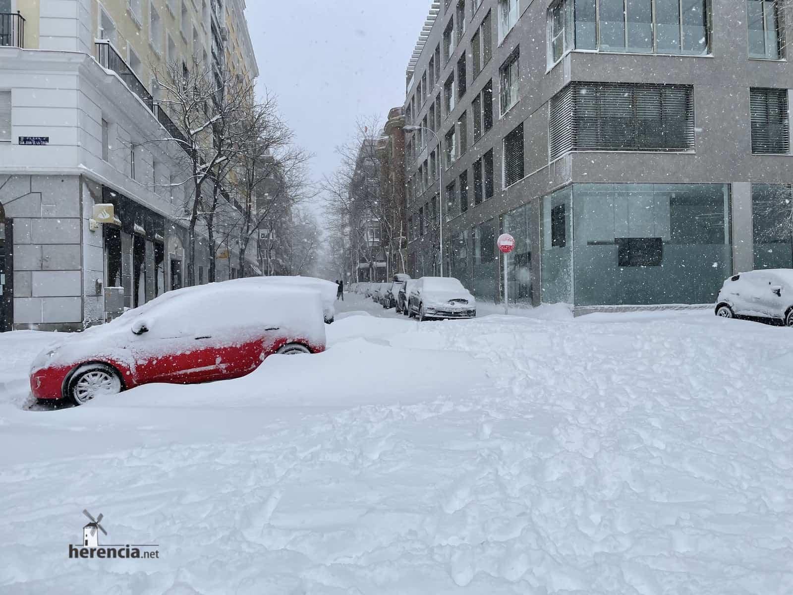 Más fotografías de las nieves de 2021 en Herencia 157
