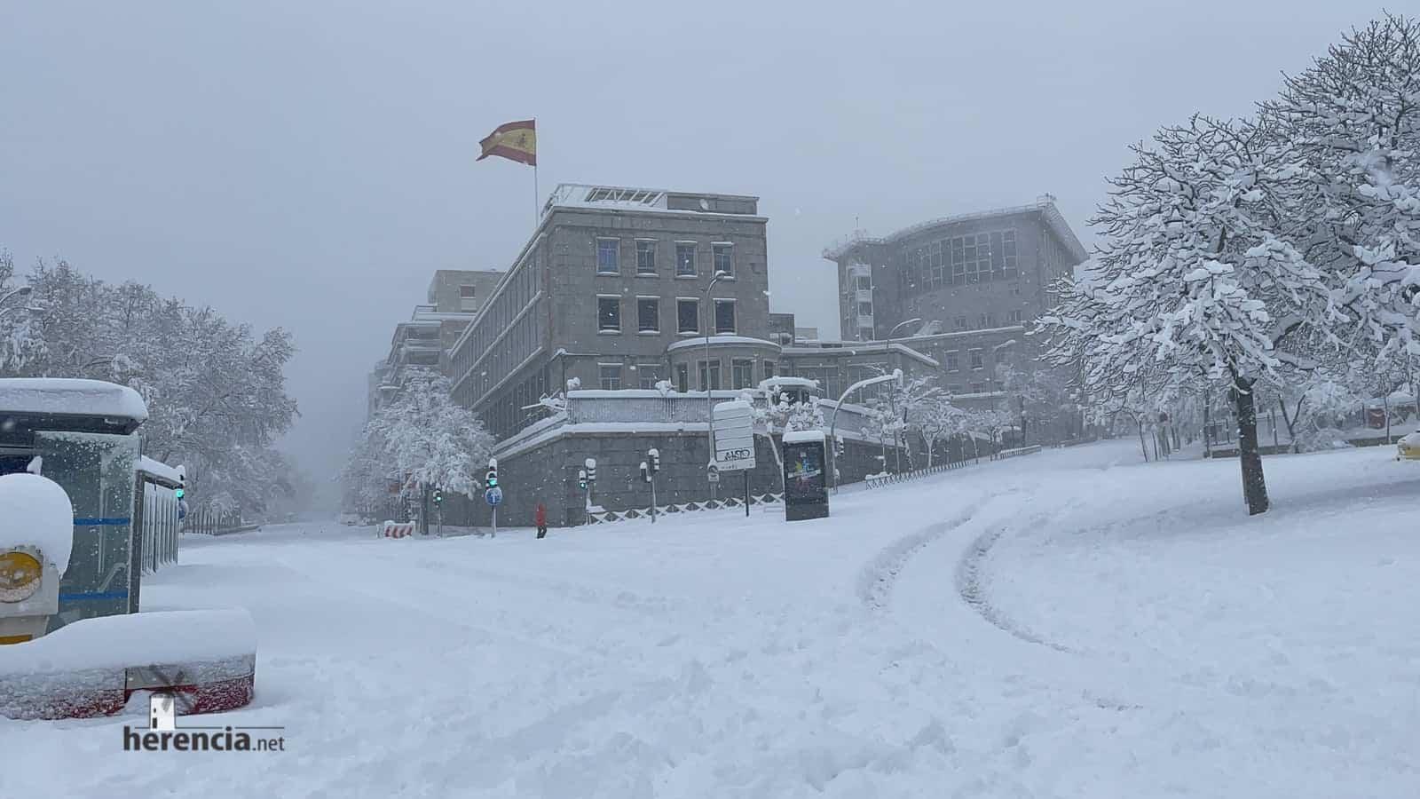 Más fotografías de las nieves de 2021 en Herencia 154