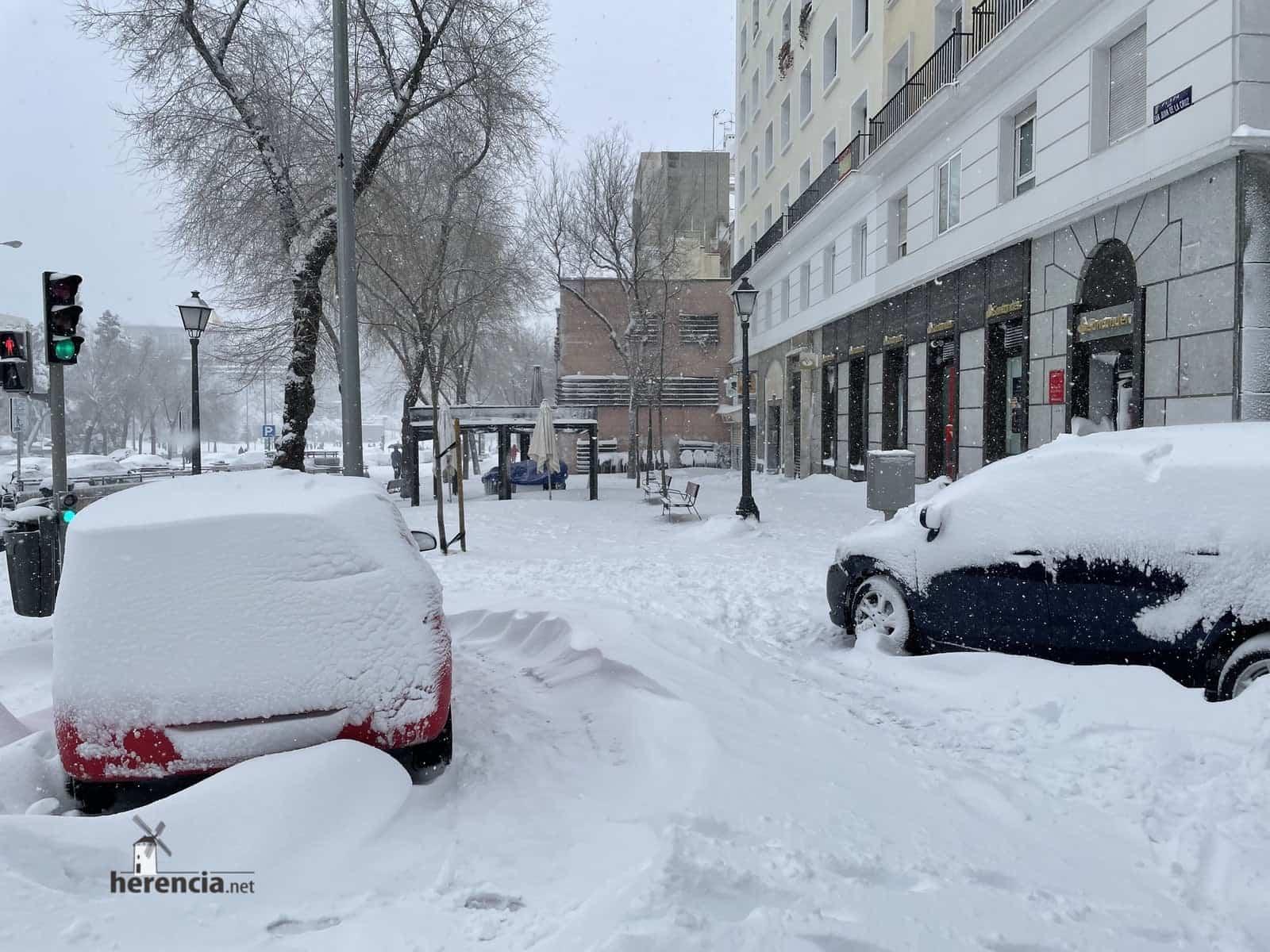 Más fotografías de las nieves de 2021 en Herencia 149