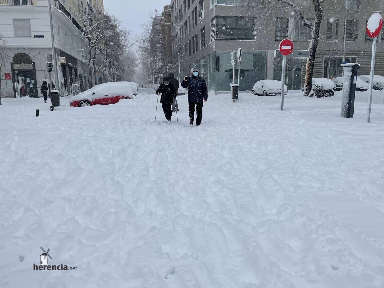 Más fotografías de las nieves de 2021 en Herencia 147