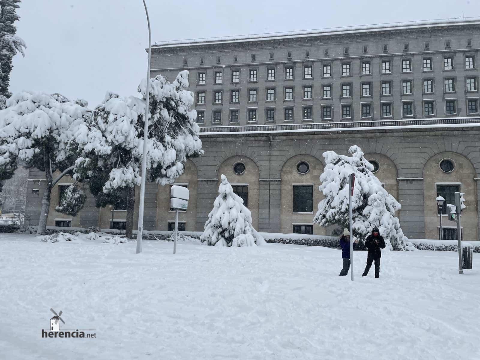 Más fotografías de las nieves de 2021 en Herencia 146