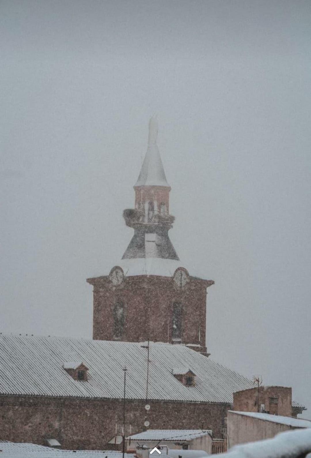Las nevadas llegan Herencia y a toda Castilla-La Mancha (actualizado) 94