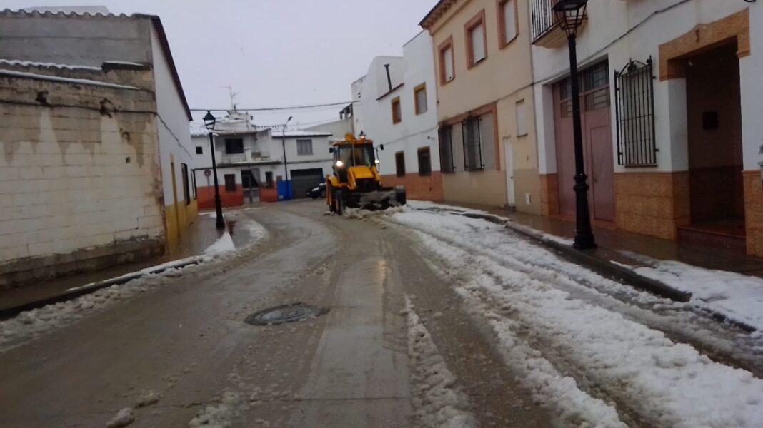 Herencia mantiene el dispositivo especial de vialidad invernal 7