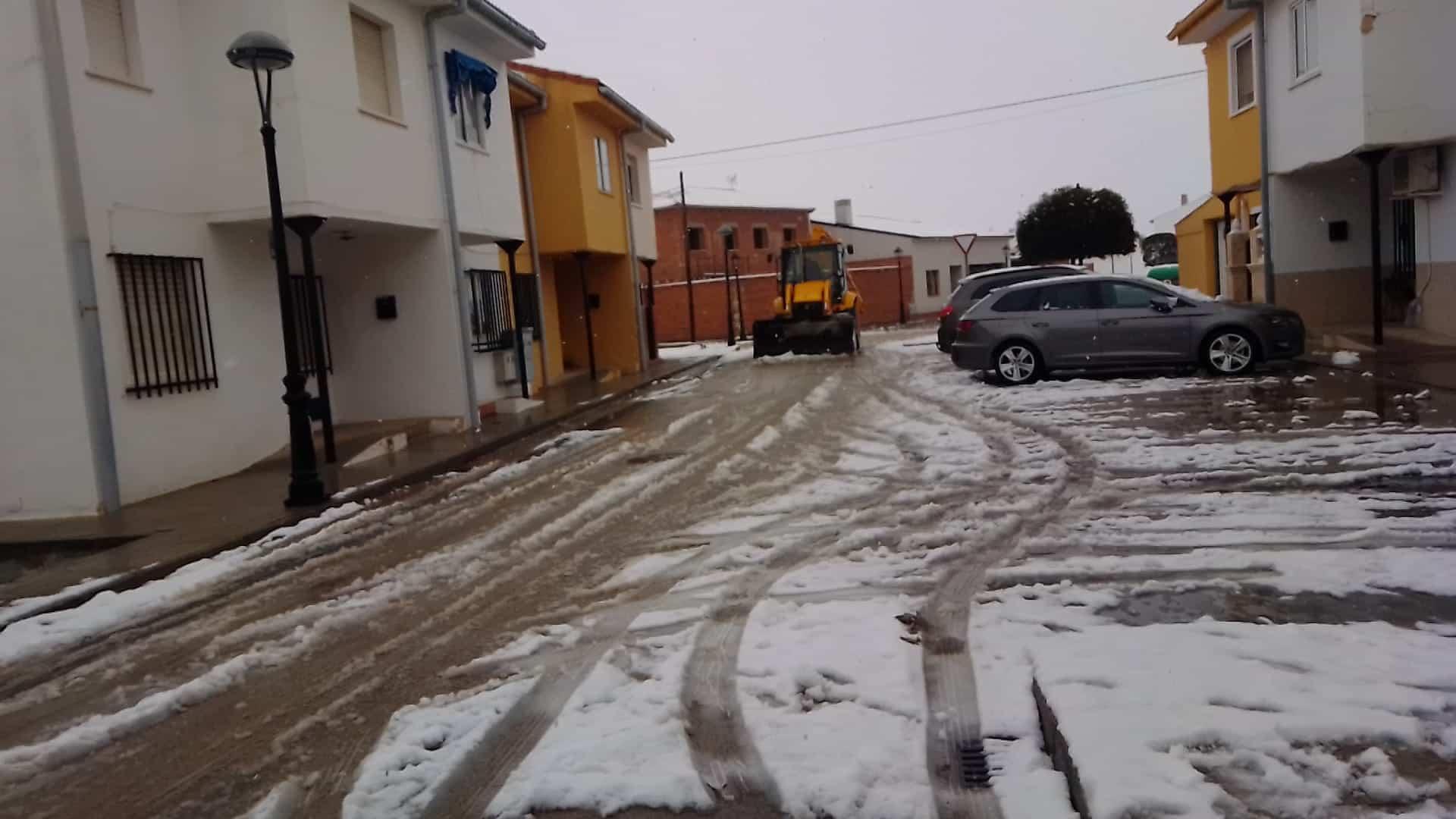 Herencia mantiene el dispositivo especial de vialidad invernal 5