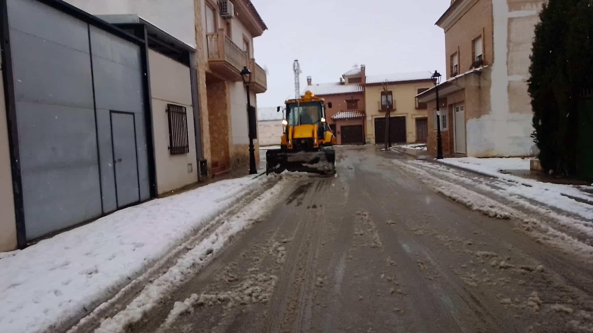 Herencia mantiene el dispositivo especial de vialidad invernal 6