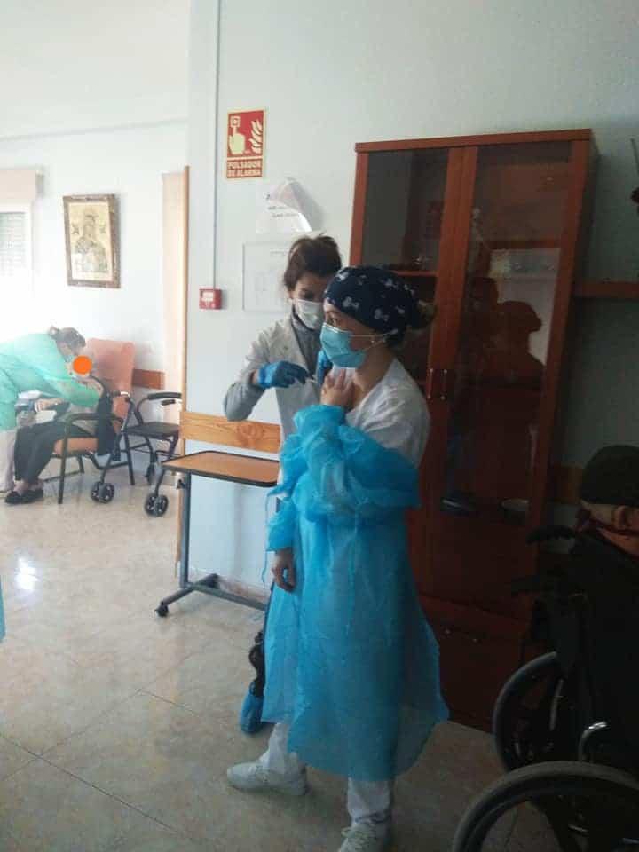 La Residencias en Herencia y el Carpe Diem reciben la vacuna contra el Covid-19 5