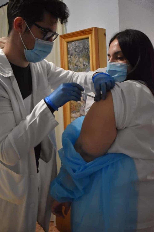 La Residencias en Herencia y el Carpe Diem reciben la vacuna contra el Covid-19 7