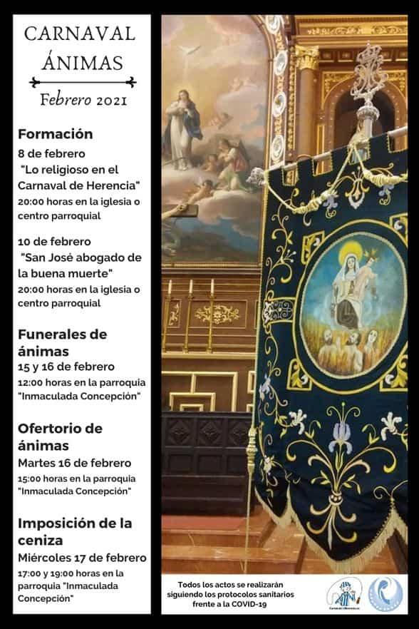 Jornadas formativas sobre el Carnaval de Ánimas de Herencia 4