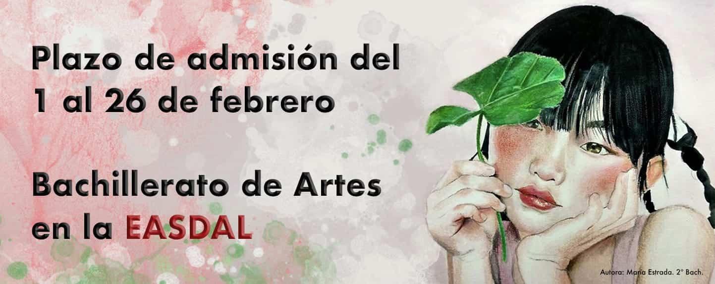 Abierto el plazo de admisión del Bachillerato de Artes en la Escuela de Arte y Superior de Diseño Antonio López 3