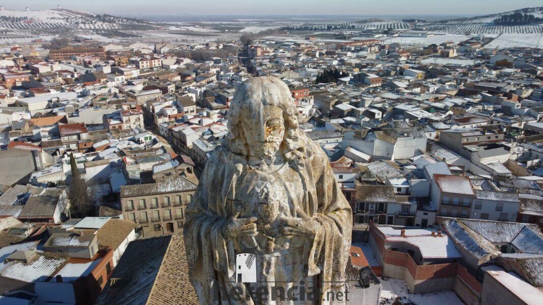 El Corazón de Jesús de la Iglesia de Herencia visto de cerca 10