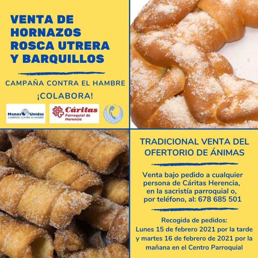 Tradicional venta de productos gastronómicos del Carnaval para Manos Unidas 4