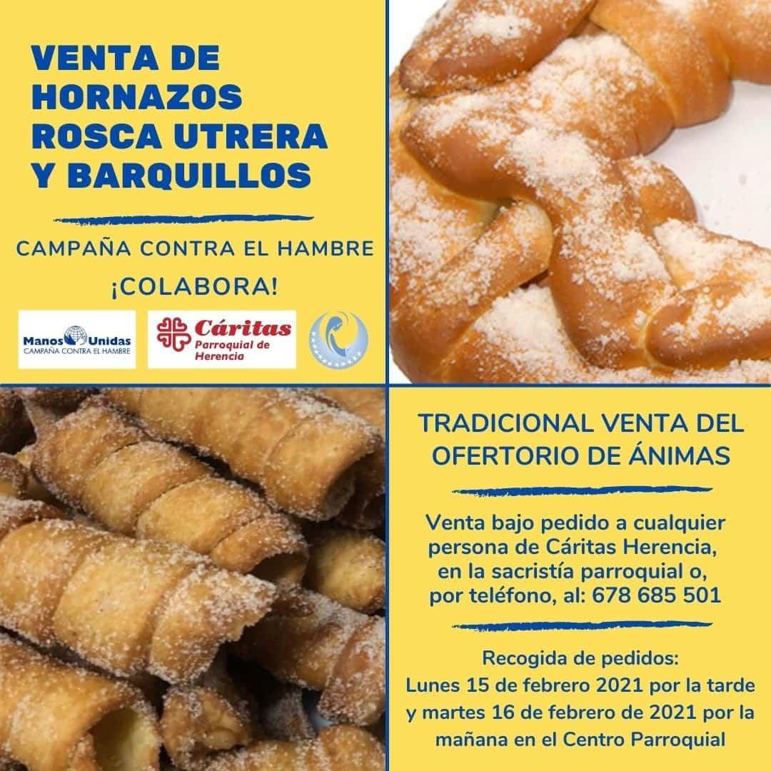 Tradicional venta de productos gastronómicos del Carnaval para Manos Unidas 3