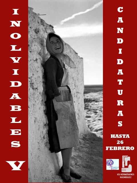 """Convocado el certamen """"Inolvidables"""" del IES Hermógenes Rodríguez 3"""
