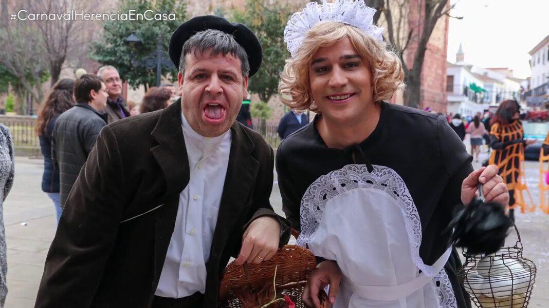 """Inauguración """"atípica"""" del Carnaval de Herencia 2021 1"""