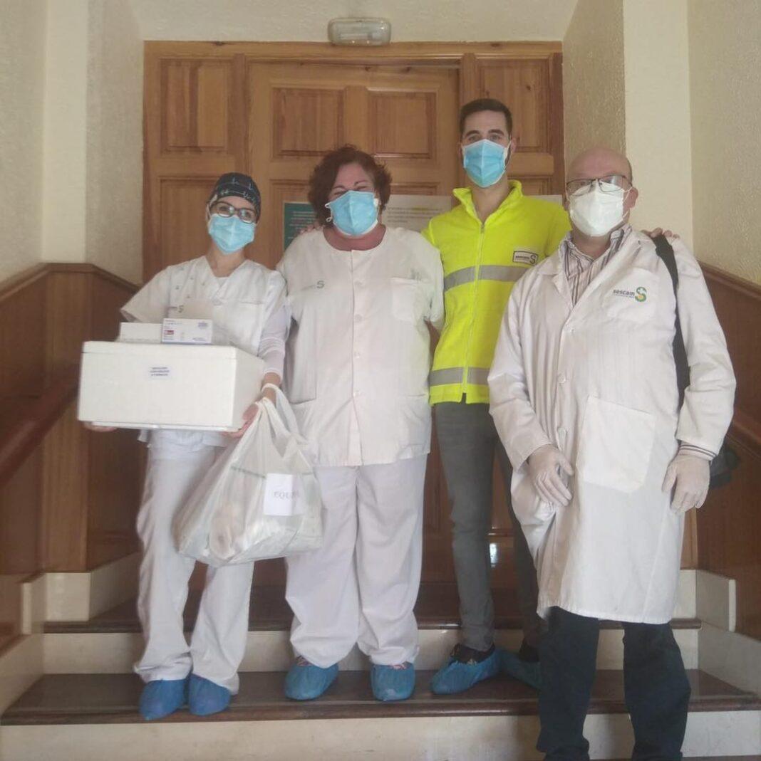 La segunda dosis de la vacuna contra el Covid-19 llega a Herencia 16