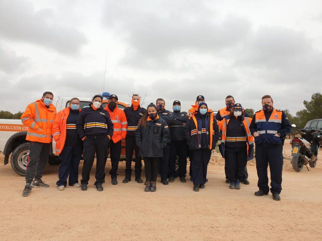 Protección Civil de Herencia colaboró con el Duatlon Cross de Campo de Criptana 1