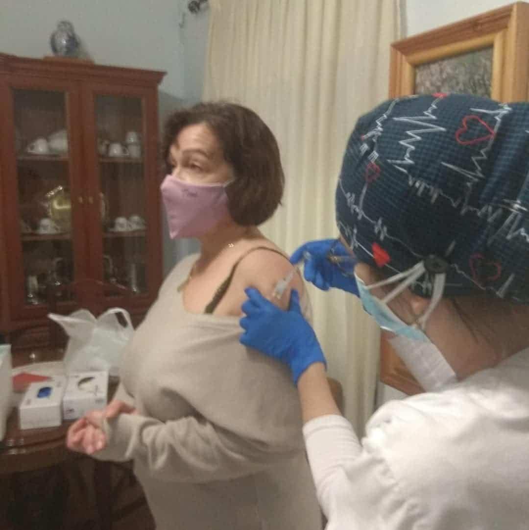 La segunda dosis de la vacuna contra el Covid-19 llega a Herencia 13