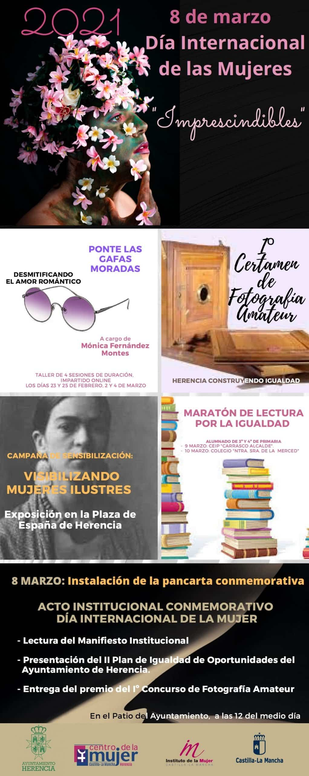 """El Centro de la Mujer conmemora el 8 de marzo construyendo igualdad para mujeres """"Imprescindibles"""" 3"""