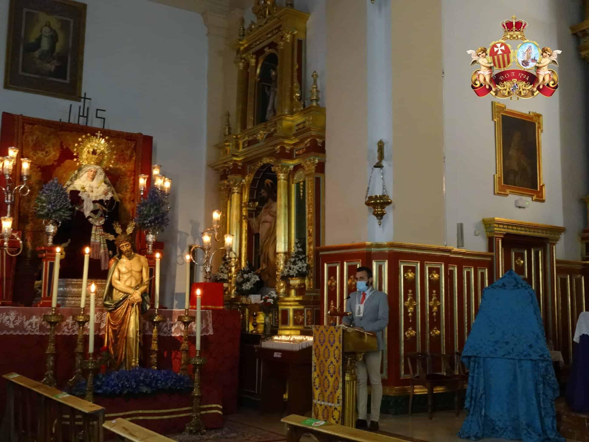 Presentado el cartel de Semana Santa del Convento de La Merced 14