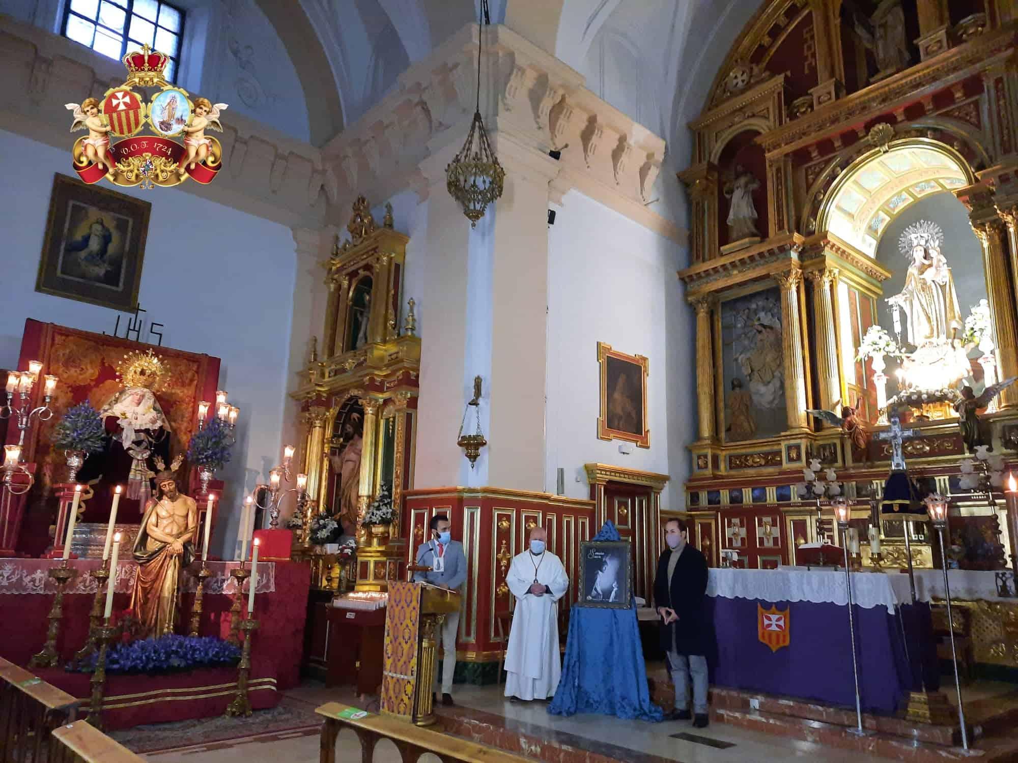 Presentado el cartel de Semana Santa del Convento de La Merced 12