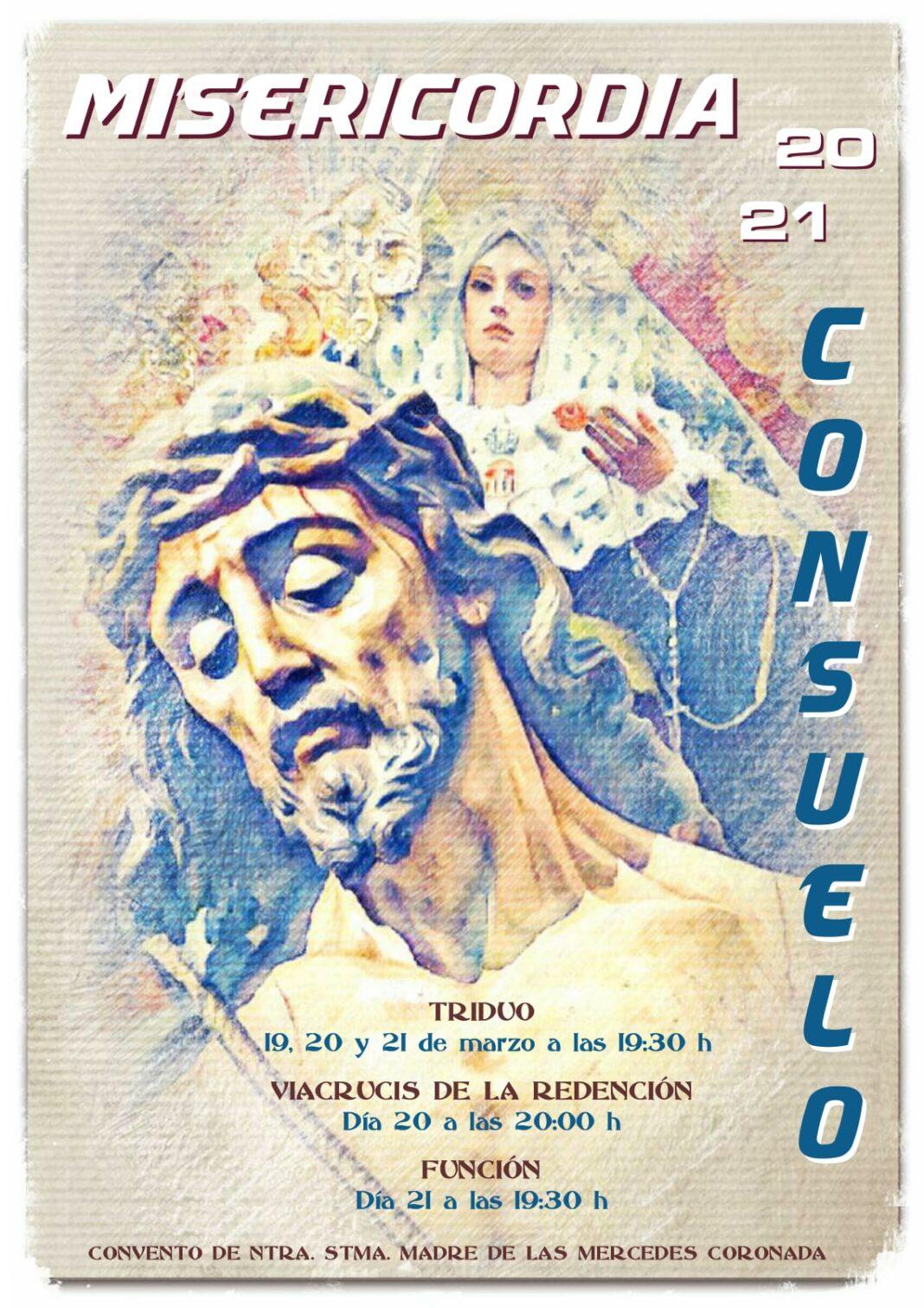 Vía Crucis de la Redención y actos en honor al Cristo del Consuelo 1