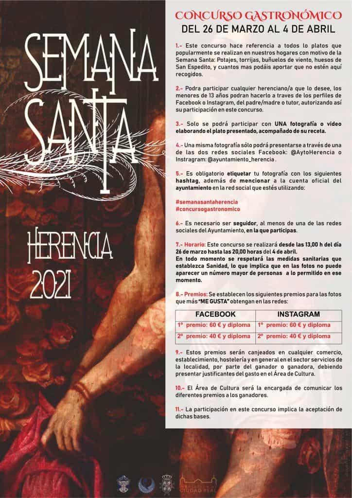 Cultura organiza un concurso gastronómico de Semana Santa en redes sociales 1