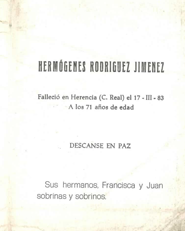 38 aniversario del fallecimiento de Hermógenes Rodríguez 3