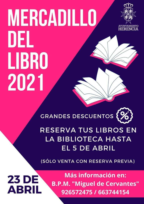 Reserva tus libros del Mercadillo del Libro 2021 de la Biblioteca Municipal de Herencia 3