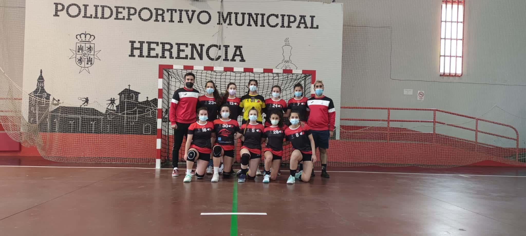 Balonmano en la semana del deporte escolar en Herencia 7