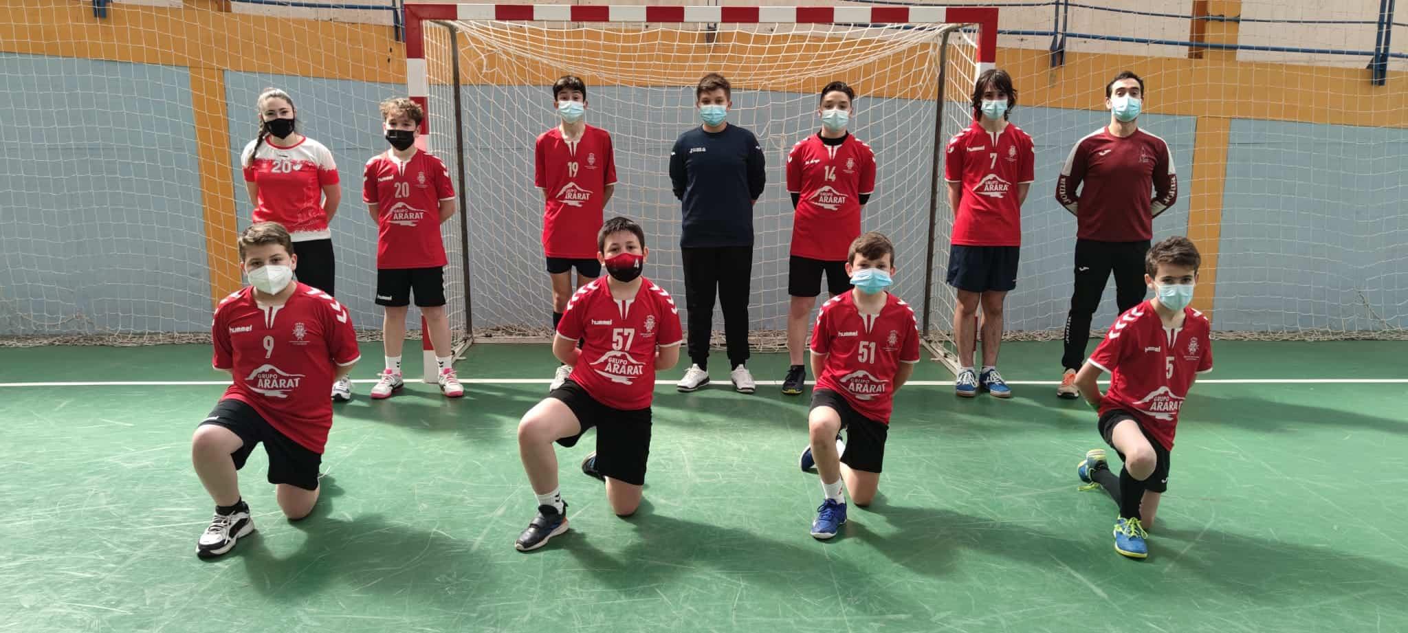 Balonmano en la semana del deporte escolar en Herencia 8