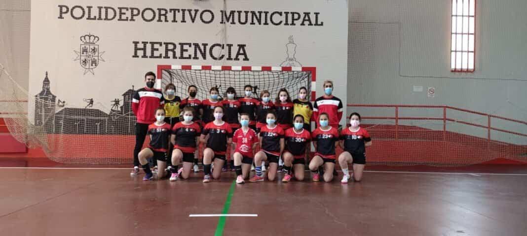 Balonmano en la semana del deporte escolar en Herencia 10