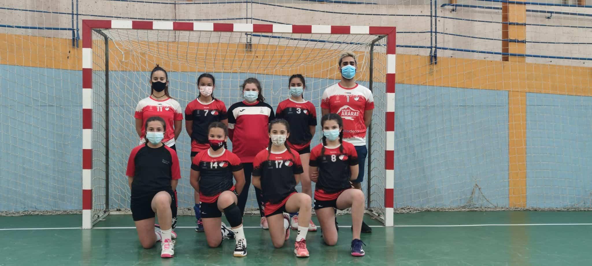 Balonmano en la semana del deporte escolar en Herencia 9