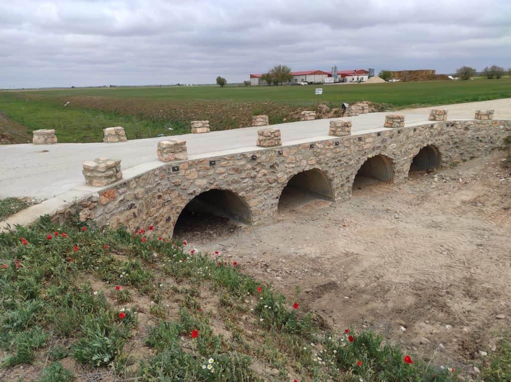 Terminadas las obras sobre el puente de Valdespino 7