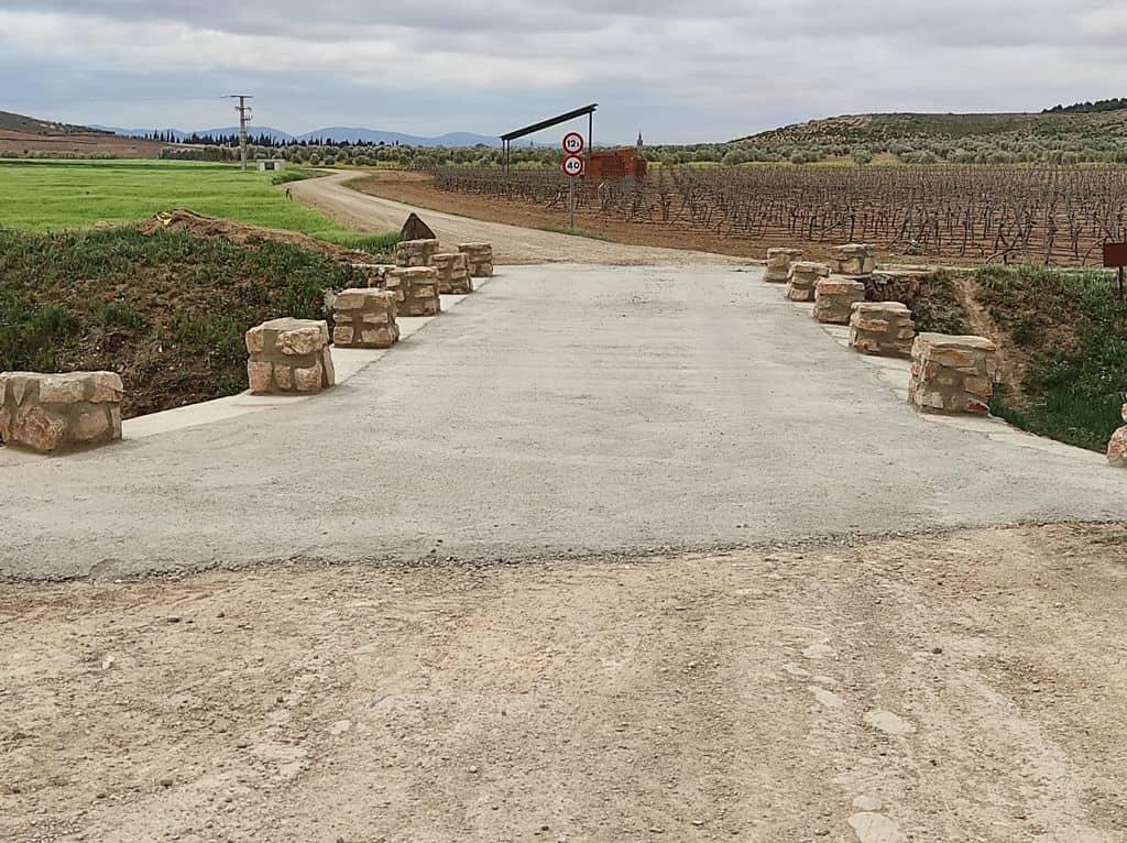 Terminadas las obras sobre el puente de Valdespino 5