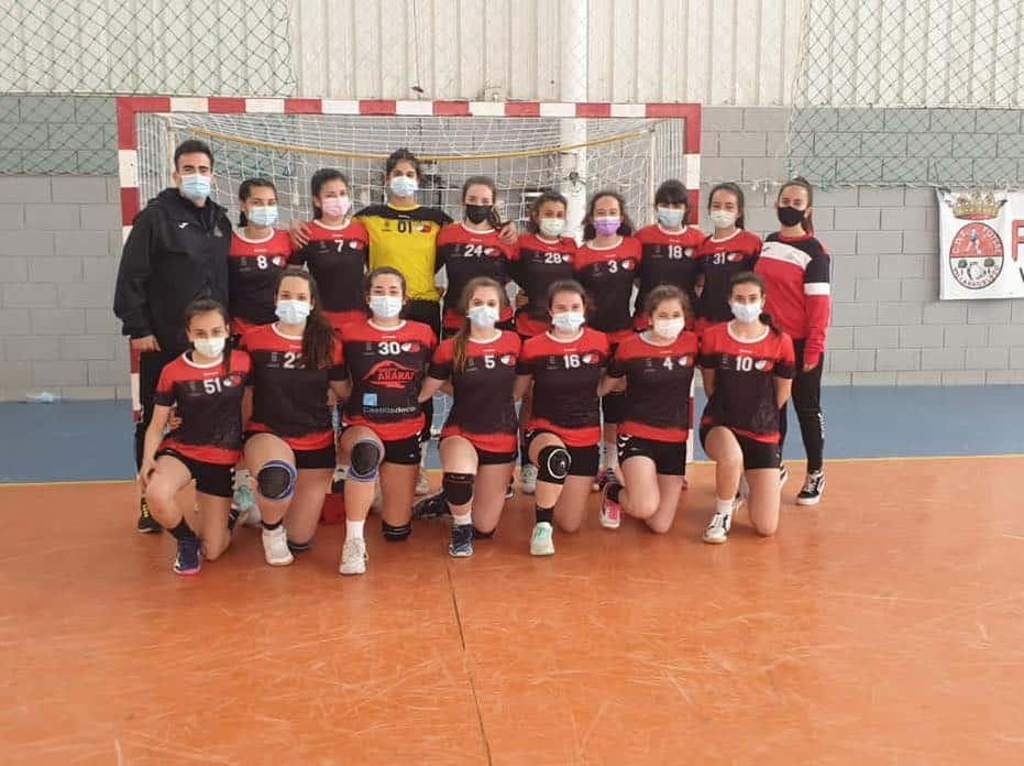 El balonmano herenciano debutó en la Copa Federación 5