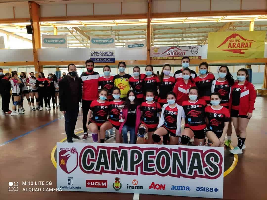 El BM Herencia y el Incarlopsa Cuenca obtienen plaza para disputar el Sector Juvenil de balonmano 3