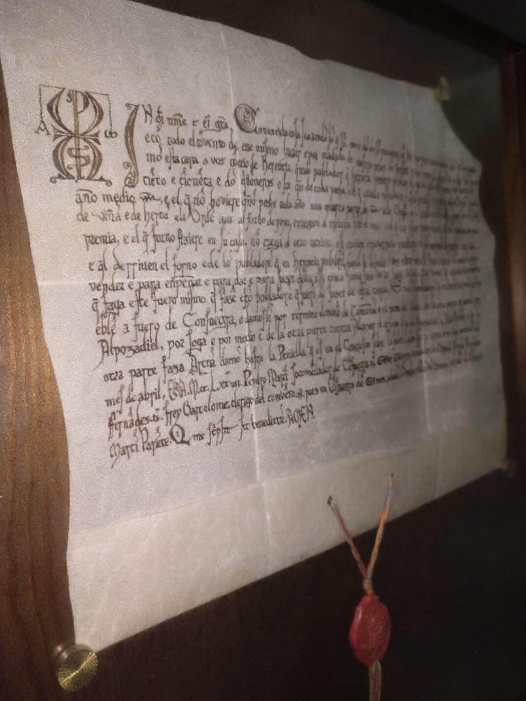 Herencia cumple 782 años de su Carta Puebla 1