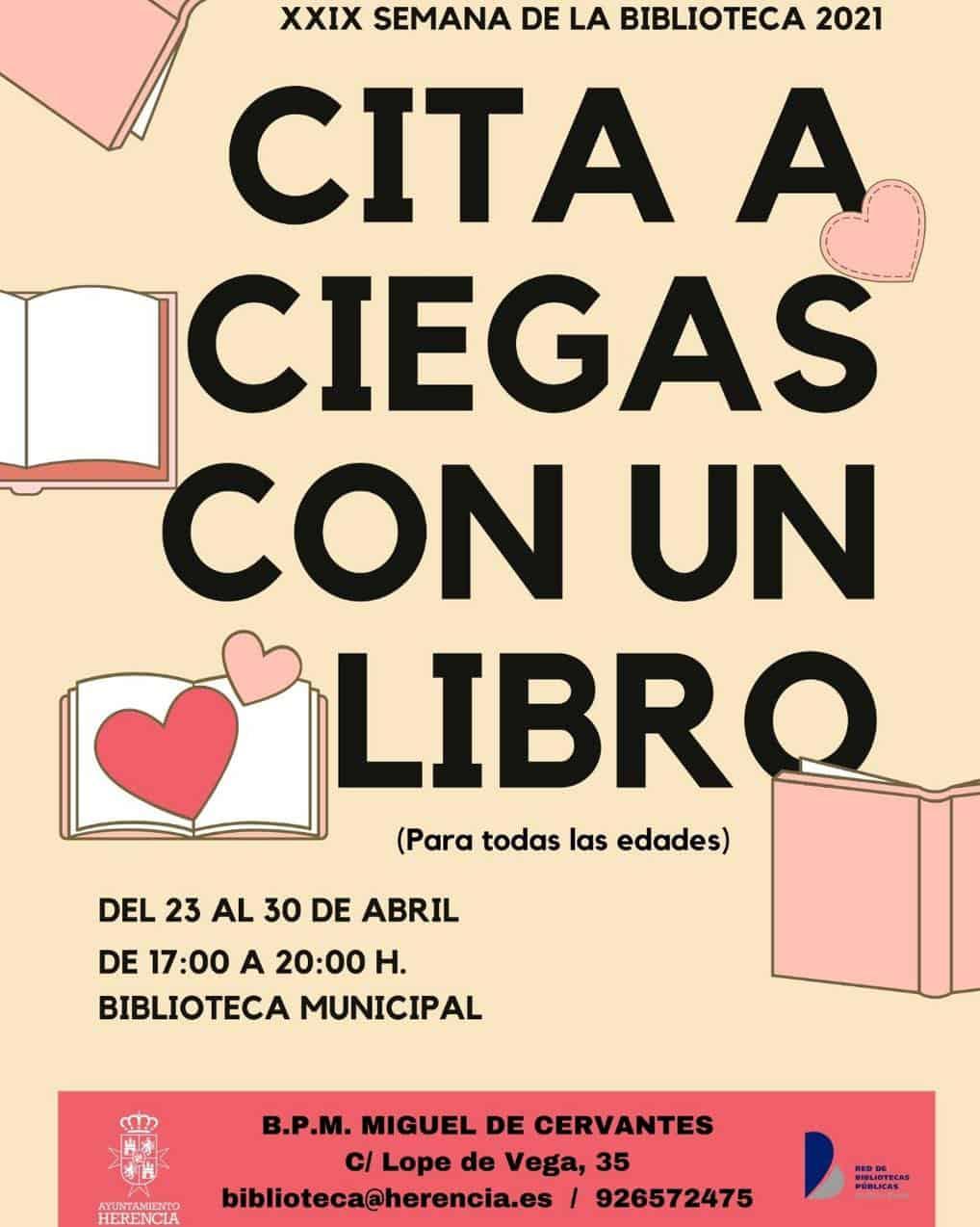Cita a Ciegas con los libros en la XXIX Semana de la Biblioteca de Herencia 3