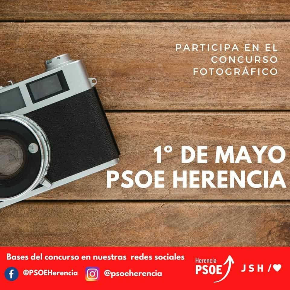 El Psoe de Herencia organiza un concurso de fotografía con motivo de 1º de mayo 4