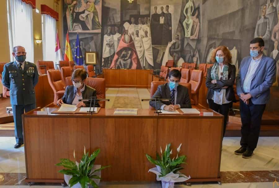 La Diputación de Ciudad Real realizará mejoras en el cuartel de la guardia civil de Herencia 5