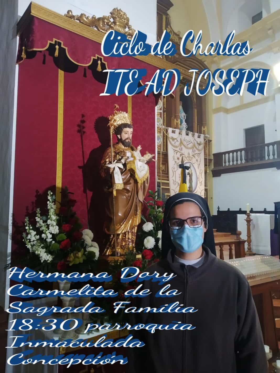 La hermana Dori hablará sobre la figura de San José como padre de Santos 1