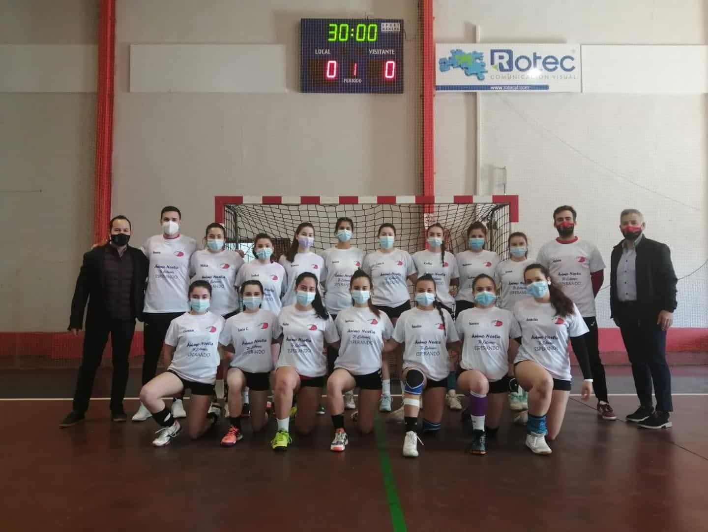 Última jornada de la Liga Juvenil Femenina de Balonmano en Herencia 7