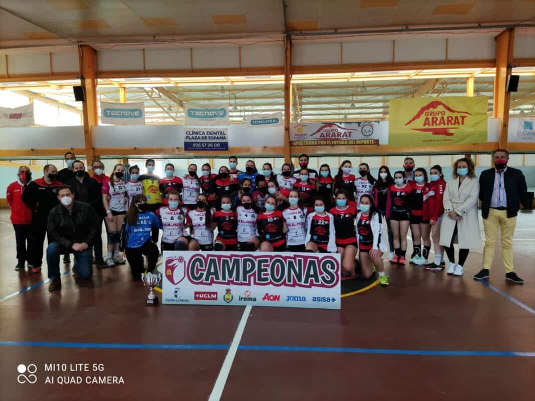 Última jornada de la Liga Juvenil Femenina de Balonmano en Herencia 10